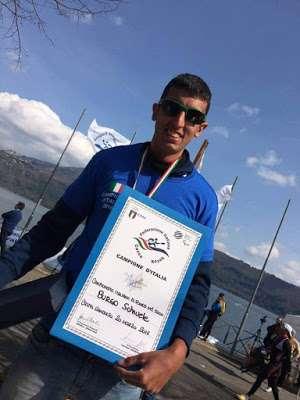 CANOA K1, Samuele Burgo stacca mezzo pass per il Campionato mondiale junior.
