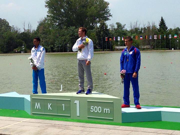 Canoa, Samuele Burgo argento agli Europei junior di Plovdiv