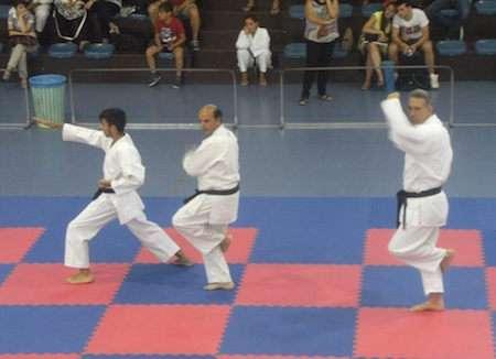 Karate, Fabio Maiolino conquista la cintura nera