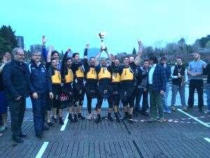 CANOA POLO, La Kst Siracusa vince la Coppa Italia  in una finalissima avvincente.