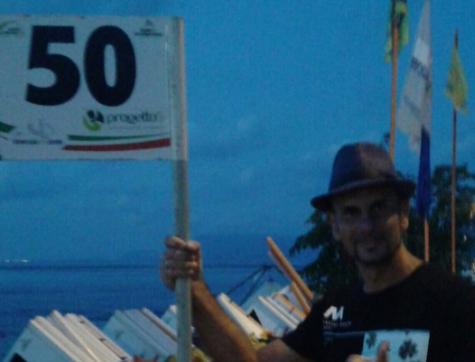 Nuoto, Antonio Pisasale ha partecipato alla 52° edizione della traversata dello Stretto
