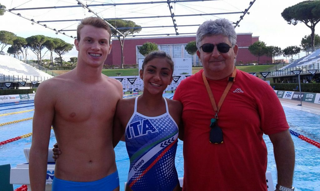 Siracusa Nuoto, grandissimo risultato per Faraci e Bramante ai campionati italiani di Roma