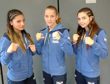 Siracusa, tre siciliane alla conquista dell'Europa nella boxe: Giulia Alota allieva del maestro Dresda