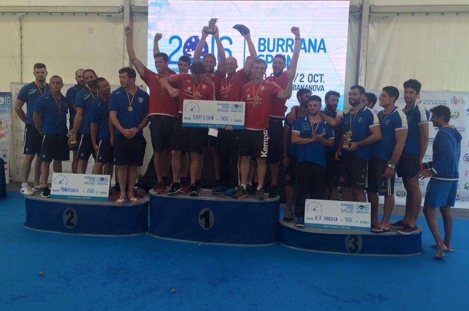 Canoa Polo, la Kst Siracusa conquista il terzo posto alla Champions League in Spagna