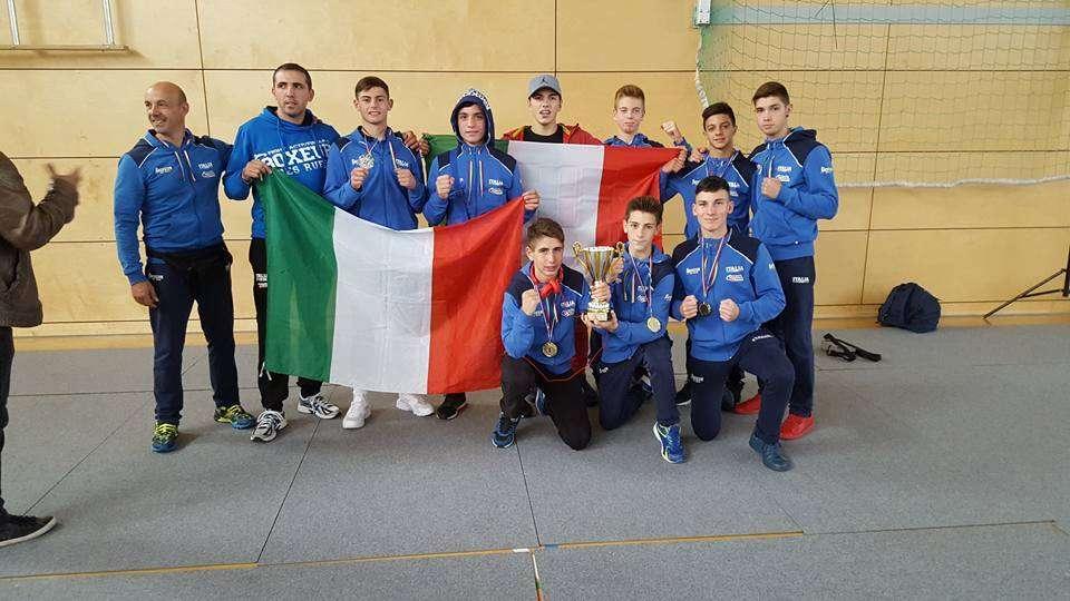 """Boxe, il giovane aretuseo Daniele Salerno scuola """"DRESDA"""" vince il trofeo internazionale a Wismar"""