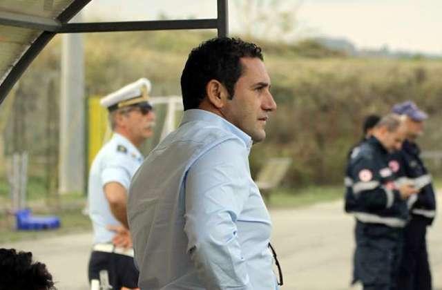 Palazzolo Calcio, Il patron Graziano Cutrufo ai suoi giocatori in vista della gara di oggi col Belpasso.