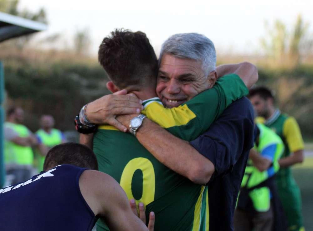 """Calcio, il Palazzolo ritrova i gol e la vittoria, la gioia di Grasso e Musumeci. Il patron Cutrufo: """"Adesso serve continuità"""""""