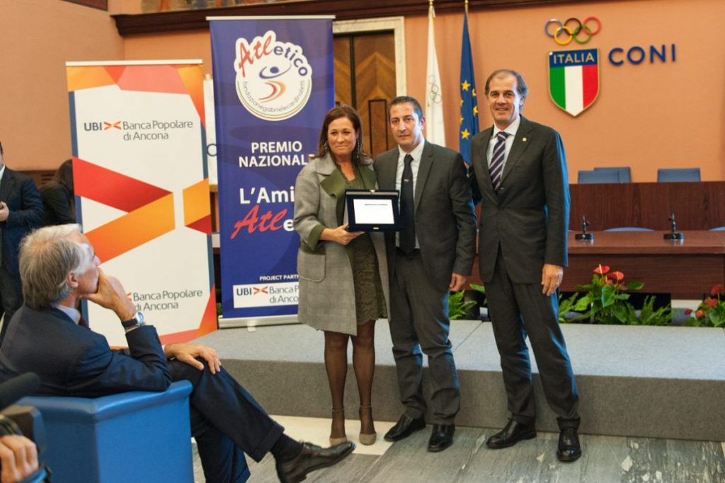 """Roma, a Concetta Carbone il riconoscimento del CONI """"per essere riuscita a coniugare sport e inclusione sociale"""""""