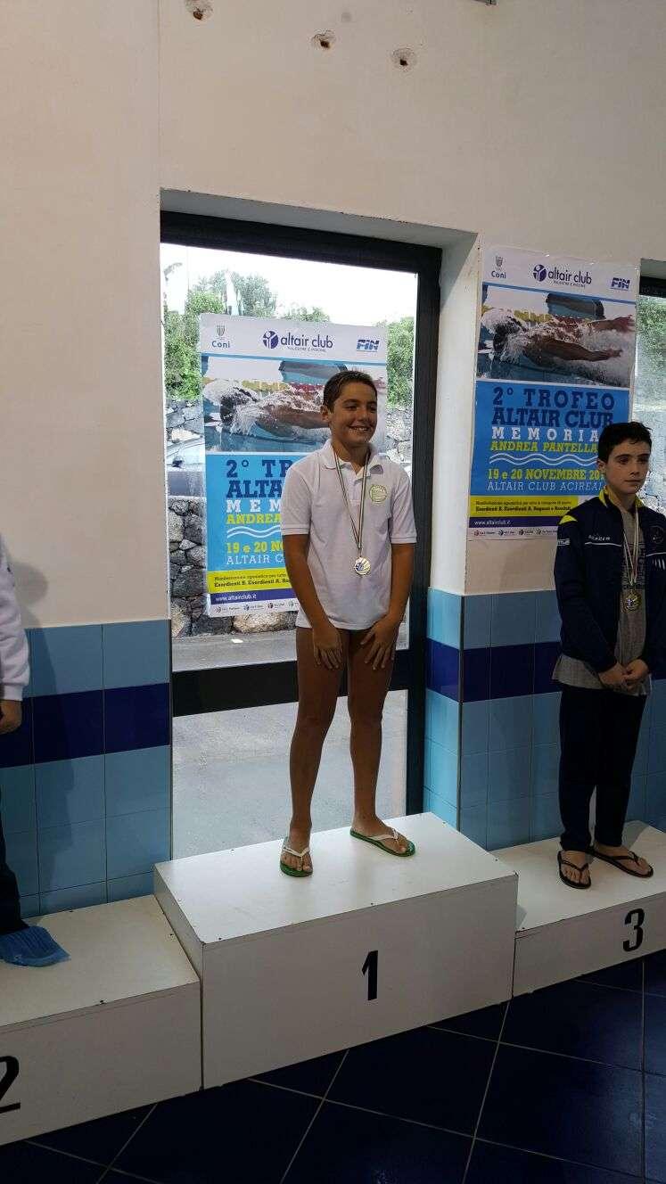 Nuoto,  debutto con medaglie per la squadra dell'Ortigia al 2° Trofeo Altair Club