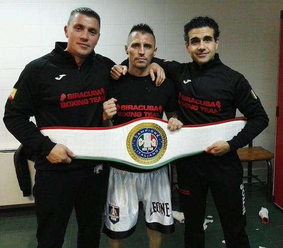 Boxe, Albert Ciprian del Siracusa Boxing Team conquista il titolo italiano