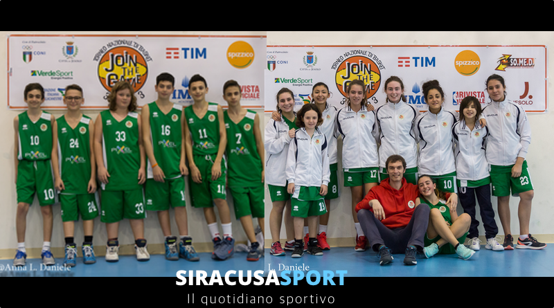 """Basket, una nutrita partecipazione al """"Join The Game"""", ottimi risultati per la Virtus Augusta Basket"""