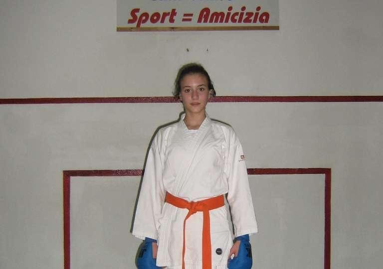 Karate, bronzo per Valeria De Luca al Gran Prix Giovanissimi