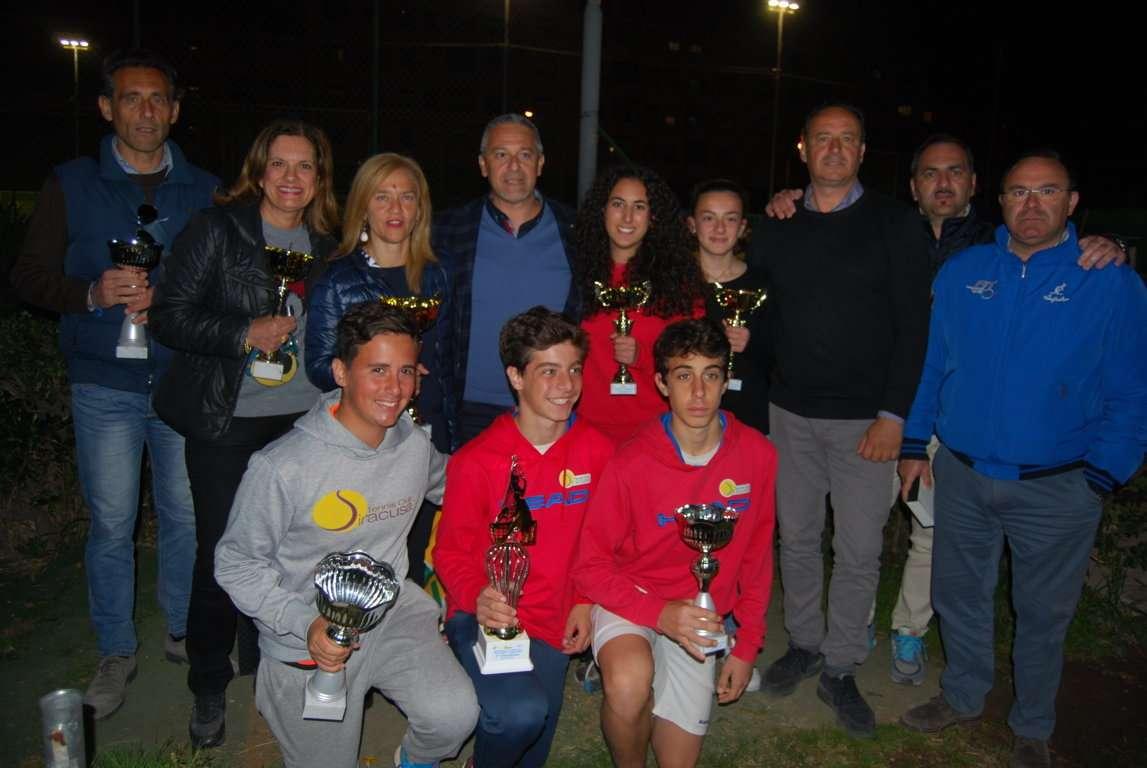 """Tennis, grande partecipazione al """"Trofeo Mario Ferrari"""" organizzato dal T.C. Siracusa"""