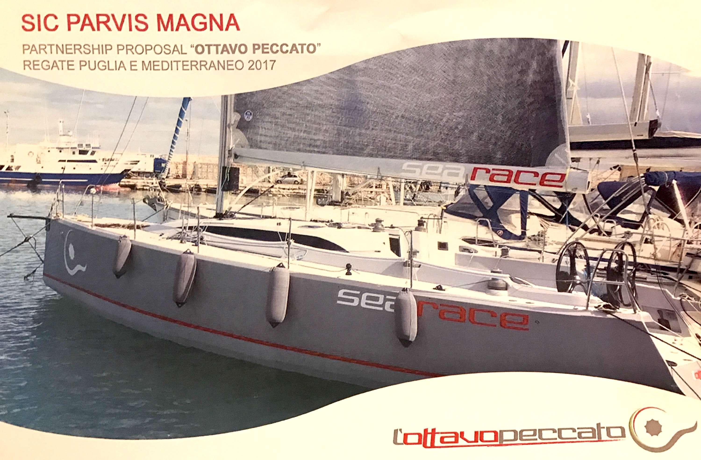 """Vela, presentata a Bisceglie l'ambizioso progetto della imbarcazione """"L'Ottavo Peccato"""", anche un siracusano a bordo"""