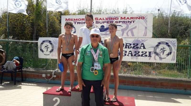 Nuoto, un oro ed un argento per l'Ortigia al Trofeo Super Sprint di Messina