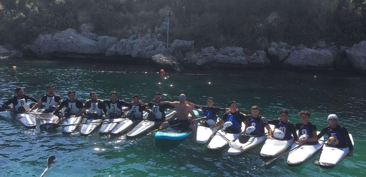 """La """"Canoa Polo Ortigia"""" protagonista a Palermo per la seconda giornata di campionato di serie B"""