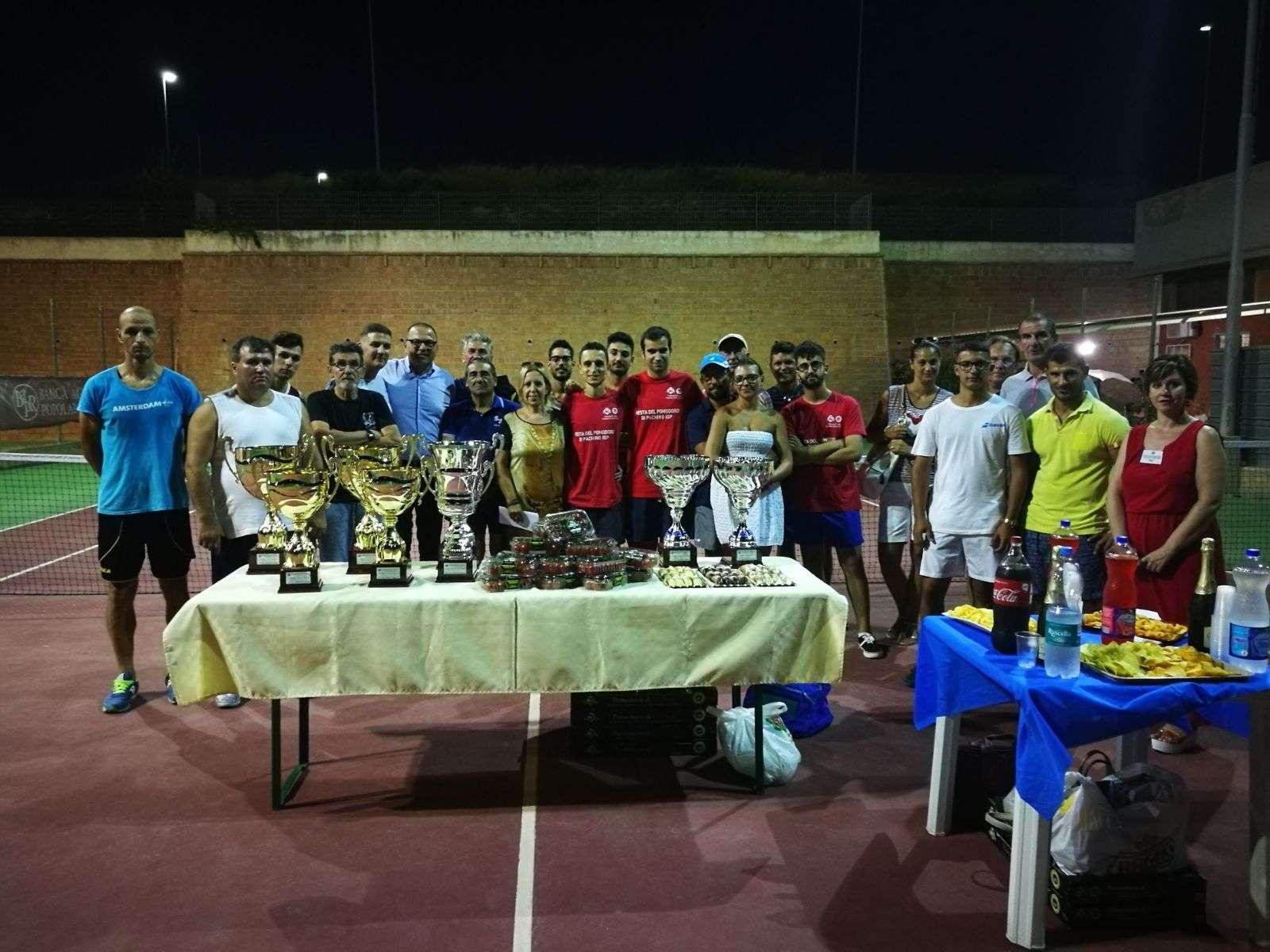 IX Edizione Festa del Pomodoro IGP di Pachino: conclusi i Tornei Amatoriali di Calcio Balilla, Ping Pong e Tennis