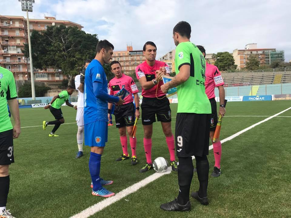 Siracusa Calcio, Catania decide il match contro il Virtus Francavilla. Una tristezza la gradinata vuota