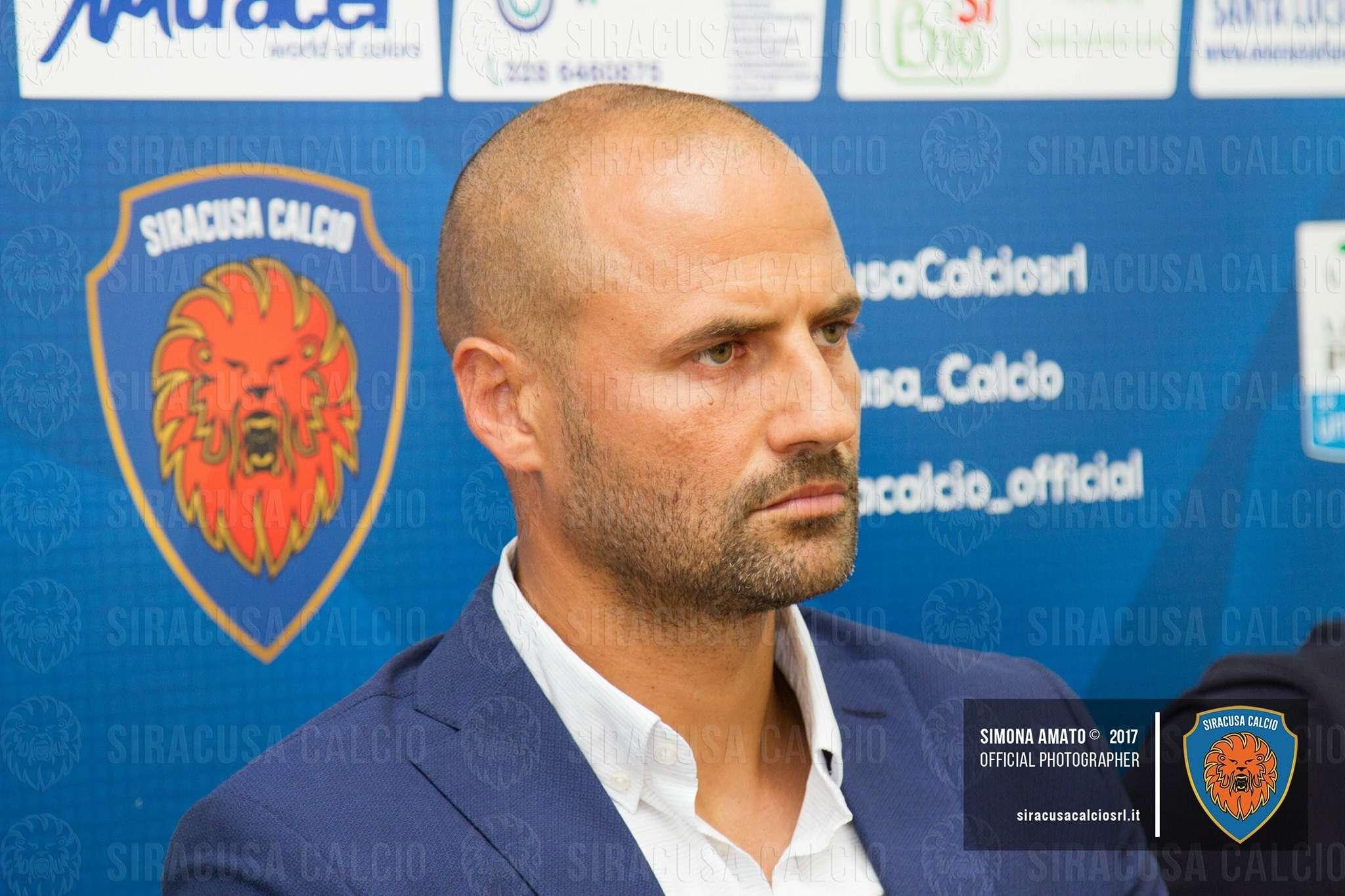 """Calcio, oggi Siracusa-Paganese. Mister Bianco: """"Non è una gara facile"""""""