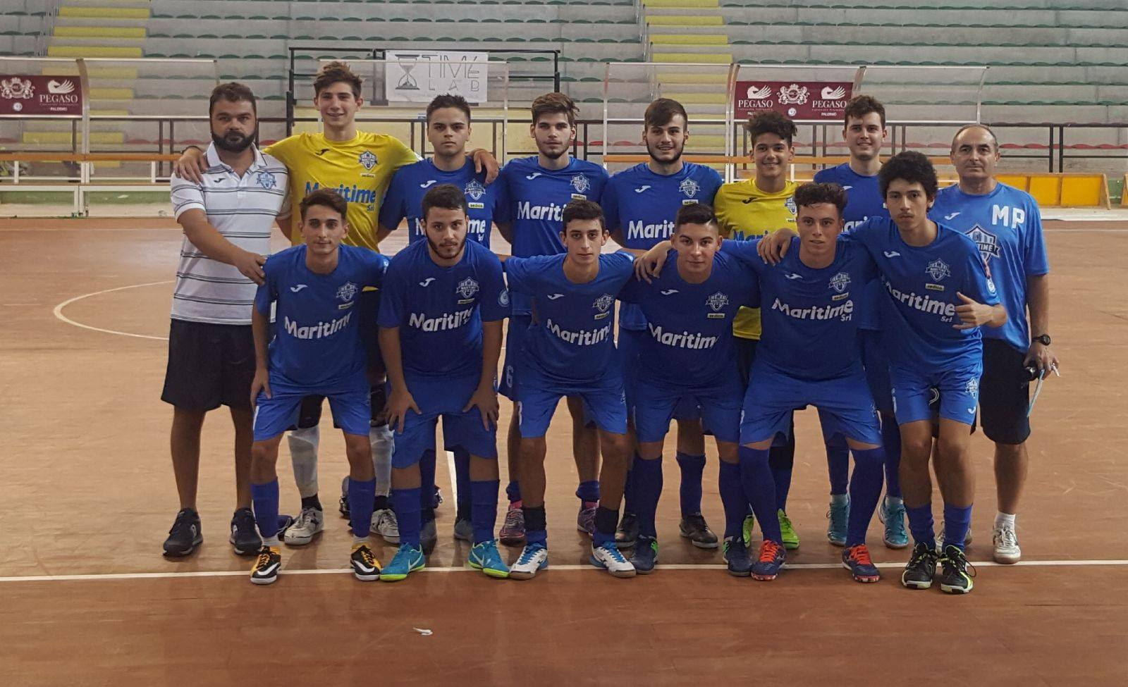 Calcio a 5, Maritime Under 19, domani il derby con l'Assoporto Melilli