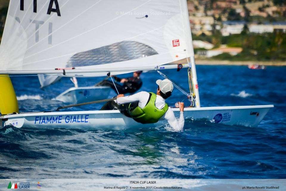 Vela, conclusa al Porto Turistico di Marina di Ragusa la regata nazionale Laser, prima tappa di Coppa Italia 2018