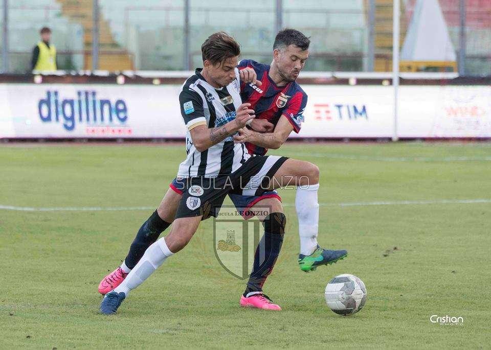 Calcio, Sicula Leonzio pareggia in casa con la Casertana. I commenti del capitano Narciso e di mister Rigoli