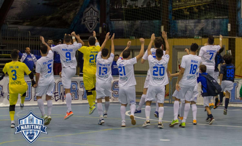 Calcio a 5 A2, il Maritime fa suo il derby contro il Meta. Le dichiarazioni post match