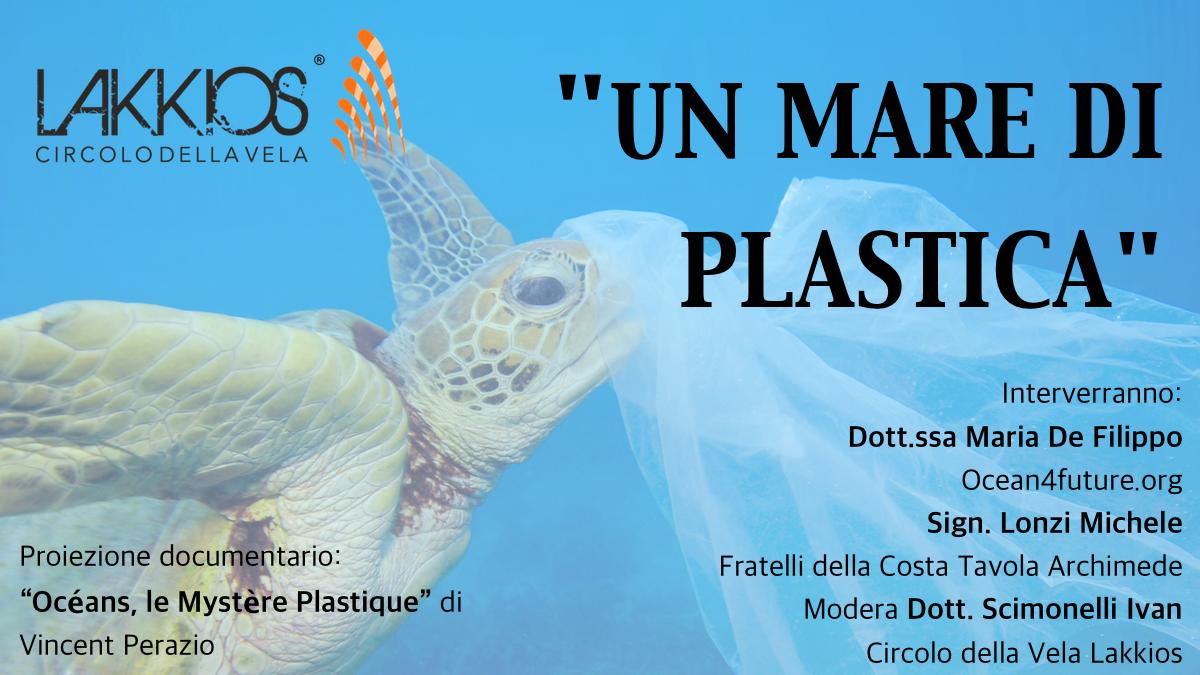 """Siracusa, """"Un Mare di Plastica"""" la conferenza sull'ambiente firmata Circolo della Vela Lakkios"""