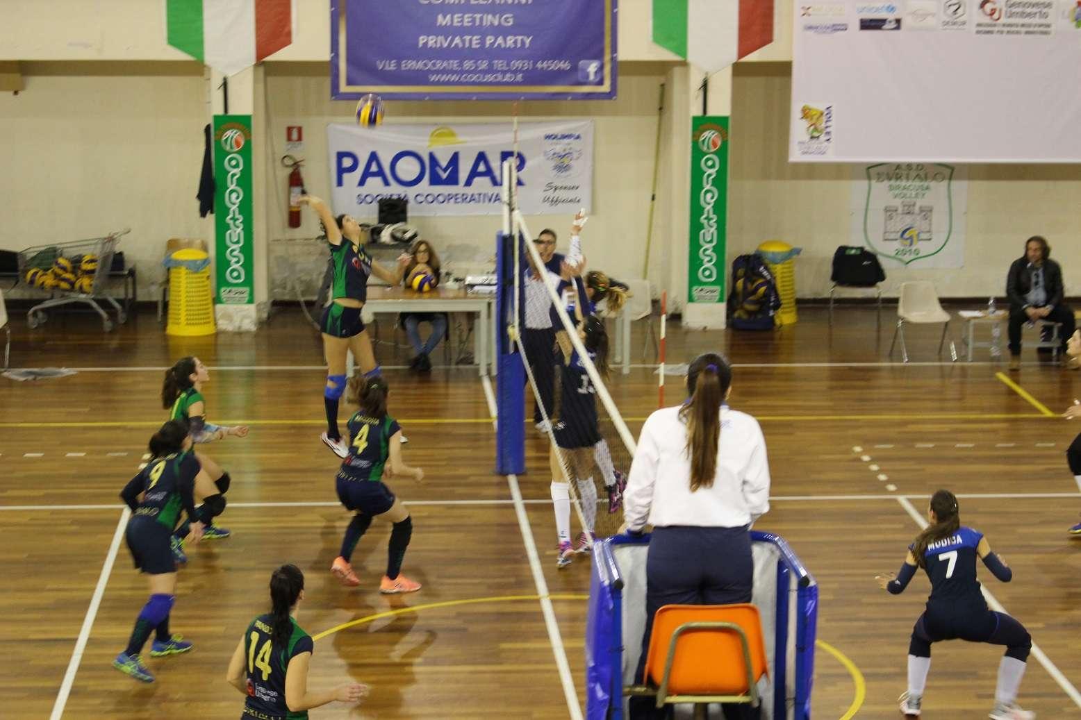 Pallavolo, Serie C: L'Eurialo Siracusa battuta dalla Teams Grazia Ct. Il commento di Scandurra
