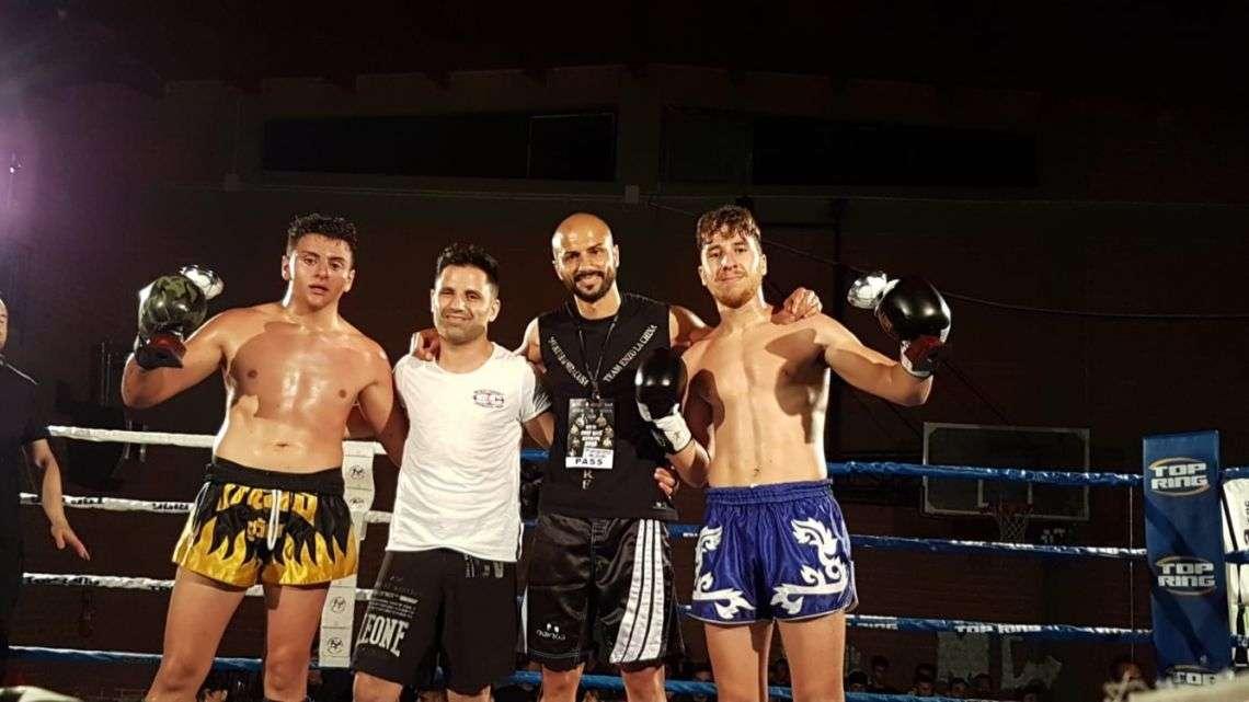 """Grande prestazione per il """"Muay Thai Siracusa Team"""" di Enzo La China al torneo Naxos Fight 2018"""